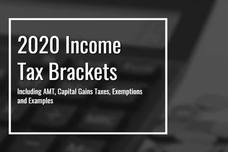2020 Federal Income Tax Brackets